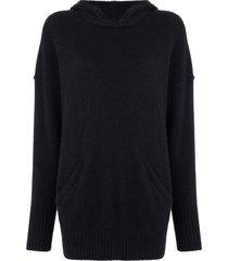 james perse lightweight cashmere hoodie - dpn