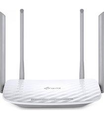 router tp-link inalámbrico banda dual 4 antenas ac1200 archer c50