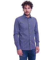italian collar fantasy slim fit shirt