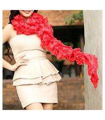 thai scarf, 'daring pink' (thailand)