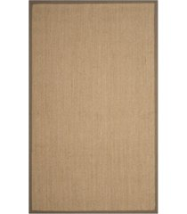 safavieh natural fiber maize and gray 4' x 6' sisal weave rug