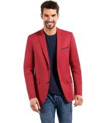 blazer business striped rojo ferouch