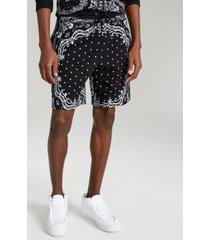inc men's bandana terry shorts, created for macy's