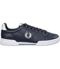 scarpe sneakers uomo in pelle b722