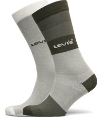 levis unisex gradient stripe regula underwear socks regular socks grön levi´s