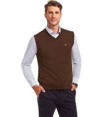 sweater business sin mangas café ferouch