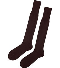 calzedonia tall egyptian cotton socks man brown size 13