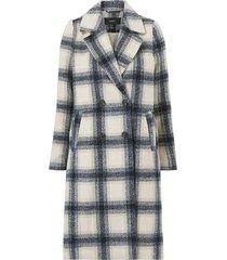 kappa vmhailey check long wool jacket