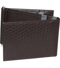 bellamy rfid z-fold wallet with money clip