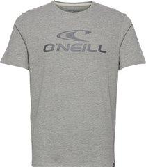 lm o'neill t-shirt t-shirts short-sleeved grå o'neill