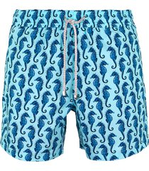 pantaloneta azul steam seahorse