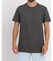 camiseta mesa slub crew billabong
