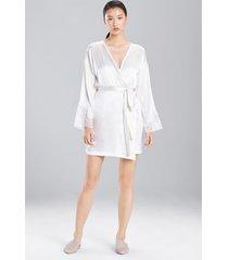 sleek sleep & lounge bath wrap robe, women's, silk, size l, josie natori