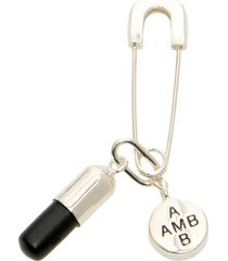 ambush pill charm piercing earring