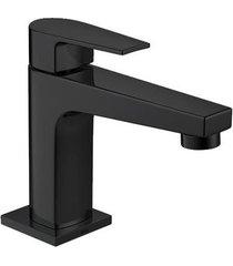 torneira para banheiro mesa level black noir bica baixa - 1197.bl26.no - deca - deca