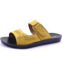 sandalia quito amarillo chalada