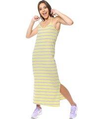 vestido amarillo inedita