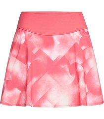 pwrshape soft geo skirt kort kjol rosa puma golf
