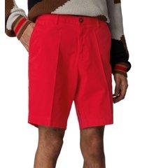 boss men's medium red slice-shorts