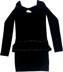 vestido negro mapamondo eclipse