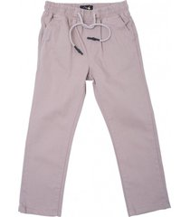 pantalon gabardina elasticada gris  pillin