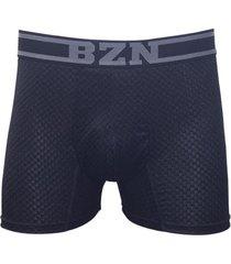 boxer microfibra jacquard negro baziano