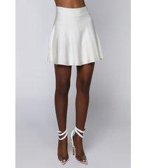 akira gianna knit mini skirt