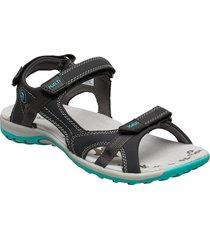 isla women's sandal shoes summer shoes flat sandals grå halti
