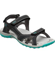 isla women's sandal shoes summer shoes flat sandals grå halti