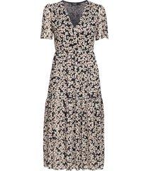 slaldora dress knälång klänning multi/mönstrad soaked in luxury