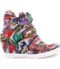 ręcznie robione sneakersy zapato 224 kolor motyl