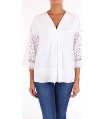 blouse alpha studio ad1520a