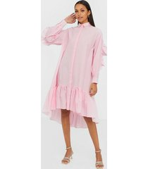 y.a.s yasdanola ls midi shirt dress s. loose fit dresses