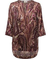 day flirt blouses short-sleeved röd day birger et mikkelsen