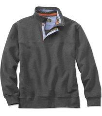 signature sweatshirt, charcoal, small