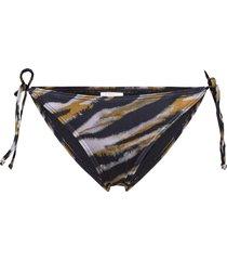 pilgz bikini bottom swimwear bikinis bikini bottoms side-tie bikinis multi/mönstrad gestuz