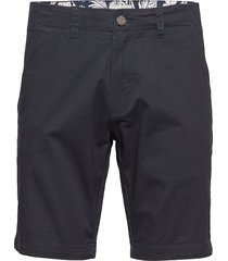 bs even tailored shorts chinos shorts blå bruun & stengade