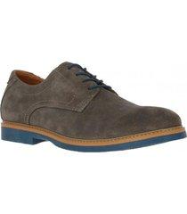 zapato cuero masai gris hush puppies