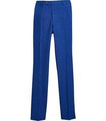 paisley & gray men's slim fit suit separates pants royal blue - size: 40