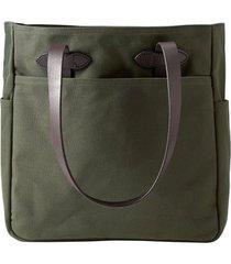 men's filson rugged twill tote bag - green