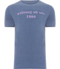 t-shirt masculina rio 60 - azul