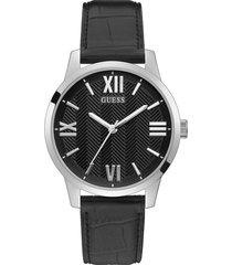 reloj guess campbell gw0250g1 - plateado