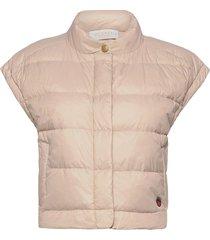 irma down vest vests padded vests crème busnel