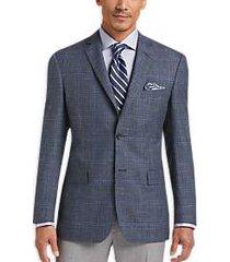 pronto uomo platinum sport coat blue plaid