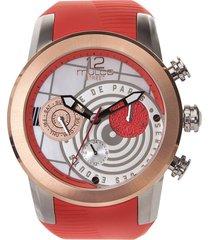 reloj mulco para mujer - street paris  mw-3-15069-533