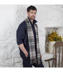foxford lambswool tartan scarf