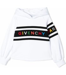 givenchy white cotton hoodie