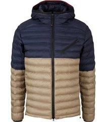 bogner jas fire + ice men larson navy blue beige