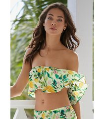 pilyq lemons mila off shoulder top