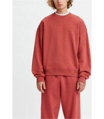 levi's men's red tab crewneck sweatshirt